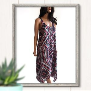 NWT Aqua Asymmetrical Slip Maxi Dress Size S